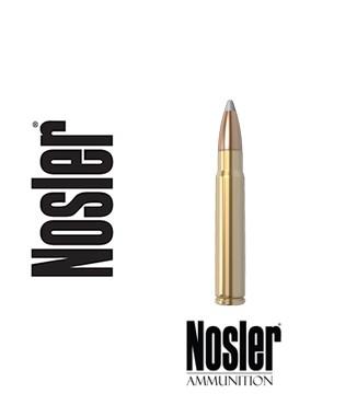 Cartuchos Nosler Trophy Grade 9.3x62 Mauser 250 grains Accubond