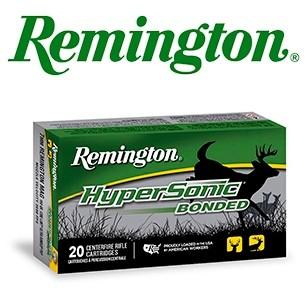 Cartuchos Remington Hypersonic Bonded .308 Winchester 150 grains Core Lokt Ultra Bonded