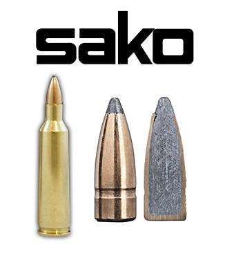 Cartuchos Sako .22-250 Remington 55 grains Gamehead (ammo)
