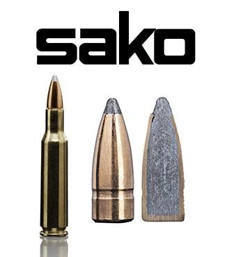 Cartuchos Sako .222 Remington 50 grains Gamehead (ammo)
