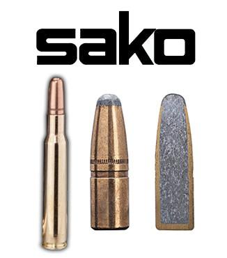 Cartuchos Sako .30-06 Springfield 220 grains Hammerhead (ammo)