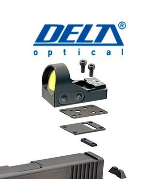 Montura Delta para SIG P229 y punto rojo HD 24 y HD 26