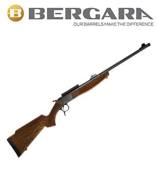 Rifle monotiro Bergara BA13 Standard con culata simil madera