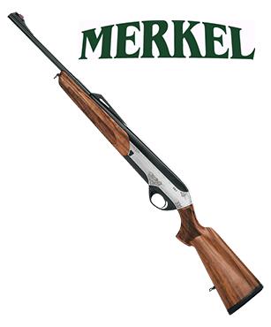 Rifle Semiautomático Merkel SR1 Jagd calibre 7x64 Brenneke