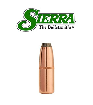 Puntas Sierra Pro-Hunter FN calibre .308 - 170 grains con canal de crimpado