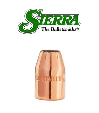 Puntas Sierra Sports Master JHP calibre .38 (.357) - 125 grains con canal de crimpado