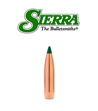 Puntas Sierra Tipped MatchKing calibre .224 - 77 grains