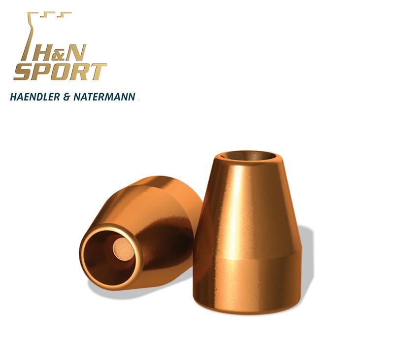 Puntas H&N HS HP 9mm (.356) - 100 grains 2000 unidades