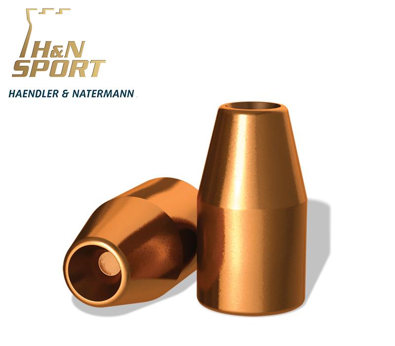 Puntas H&N HS HP 9mm (.356) - 145 grains 2000 unidades