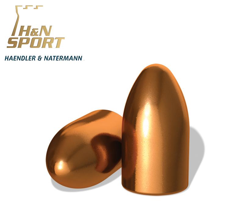 Puntas H&N HS RN 9mm (.356) - 145 grains 500 unidades