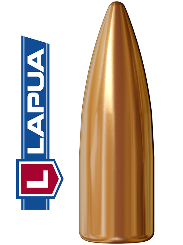 Puntas Lapua Full Metal Jacket calibre .224 - 55 grains 1.000 unidades