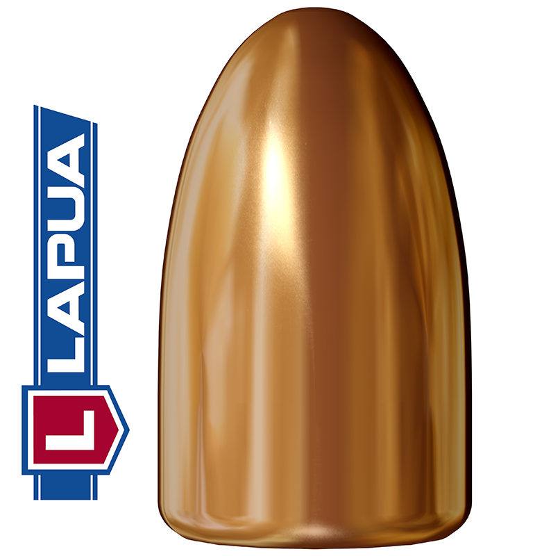 Puntas Lapua Full Metal Jacket calibre 9mm (.355) - 123 grains