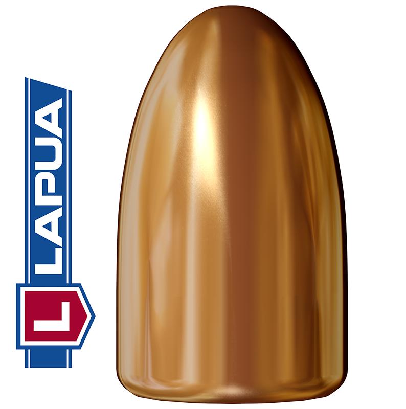 Puntas Lapua Full Metal Jacket calibre 9mm (.355) - 123 grains 1.000 unidades