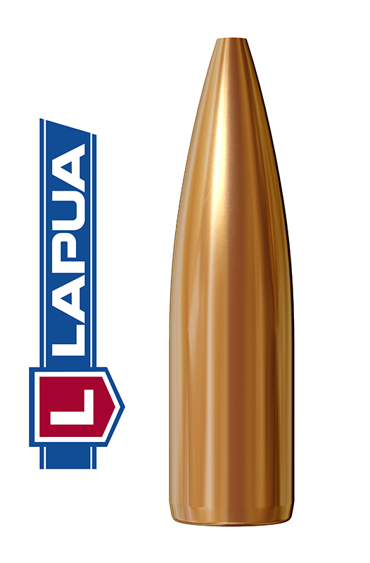 Puntas Lapua Hollow Point calibre .243 (6mm) - 77 grains
