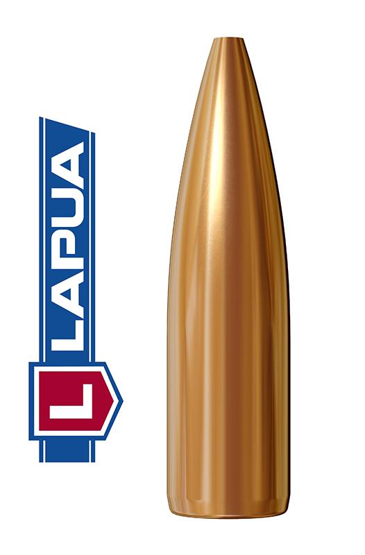 Puntas Lapua Hollow Point calibre .243 (6mm) - 77 grains