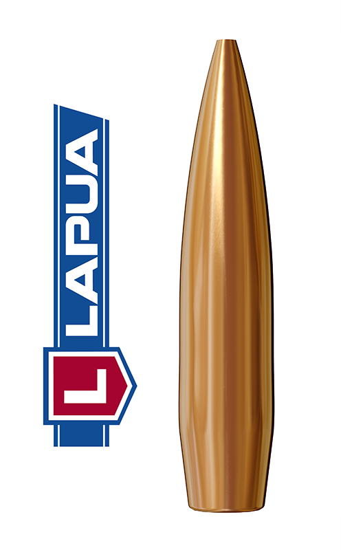 Puntas Lapua Scenar calibre .264 (6,5mm) - 123 grains 1.000 unidades