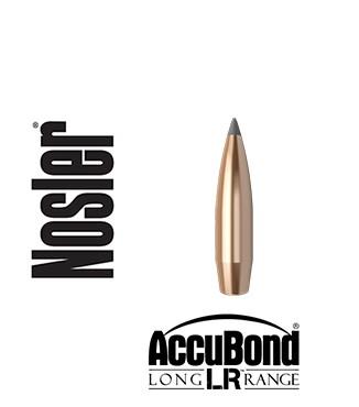 Puntas Nosler Accubond Long Range calibre .308 - 190 grains