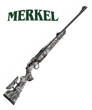 Rifle de cerrojo Merkel RX Helix Alpinist Camo