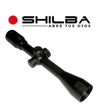 "Visor Shilba Classic 4x40 de 1"" con retícula iluminada IRG4"