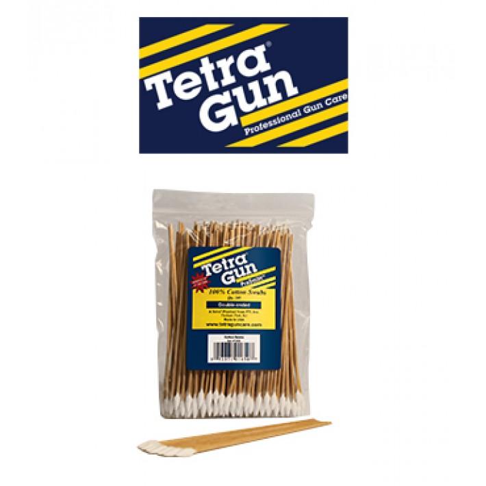 Hisopos de algodón de punta cónica Tetra Gun- 200 unidades