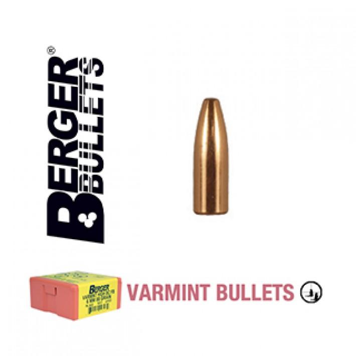 Puntas Berger FB Varmint calibre .172 - 25 grains 200 unidades