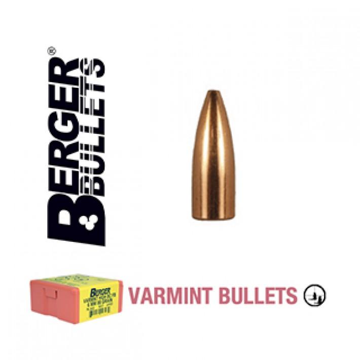 Puntas Berger FB Varmint calibre .204 - 35 grains 1000 unidades