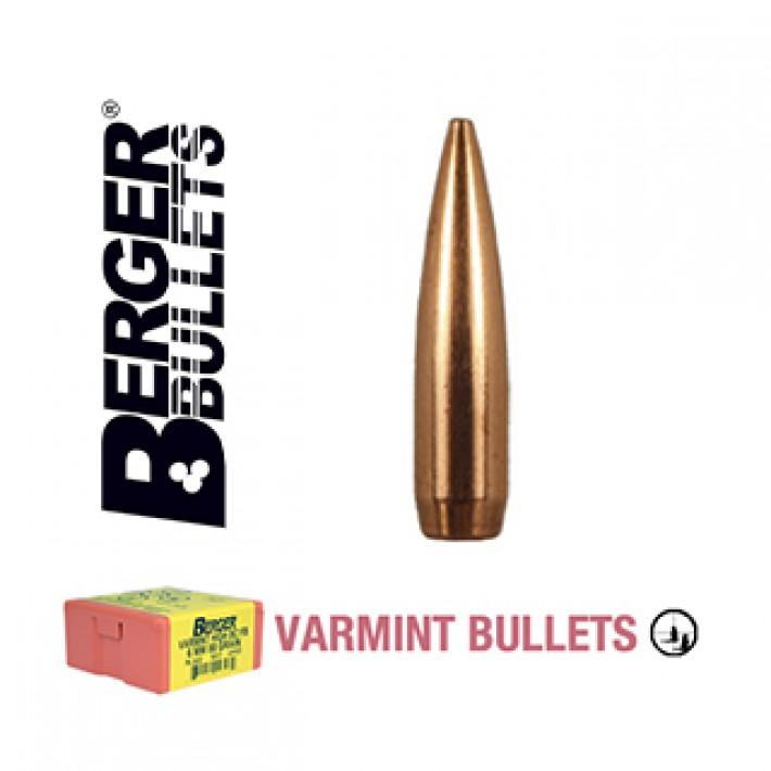 Puntas Berger Long Range BT Varmint calibre .204 - 55 grains
