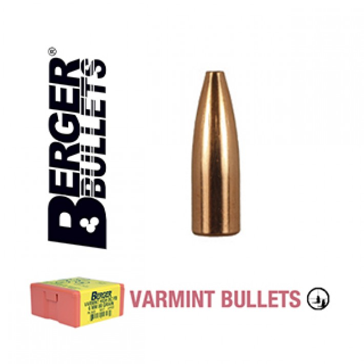 Puntas Berger FB Varmint calibre .224 - 55 grains