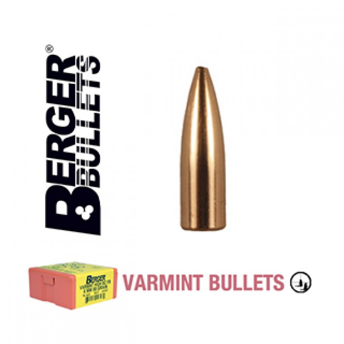Puntas Berger FB Varmint calibre .224 - 60 grains