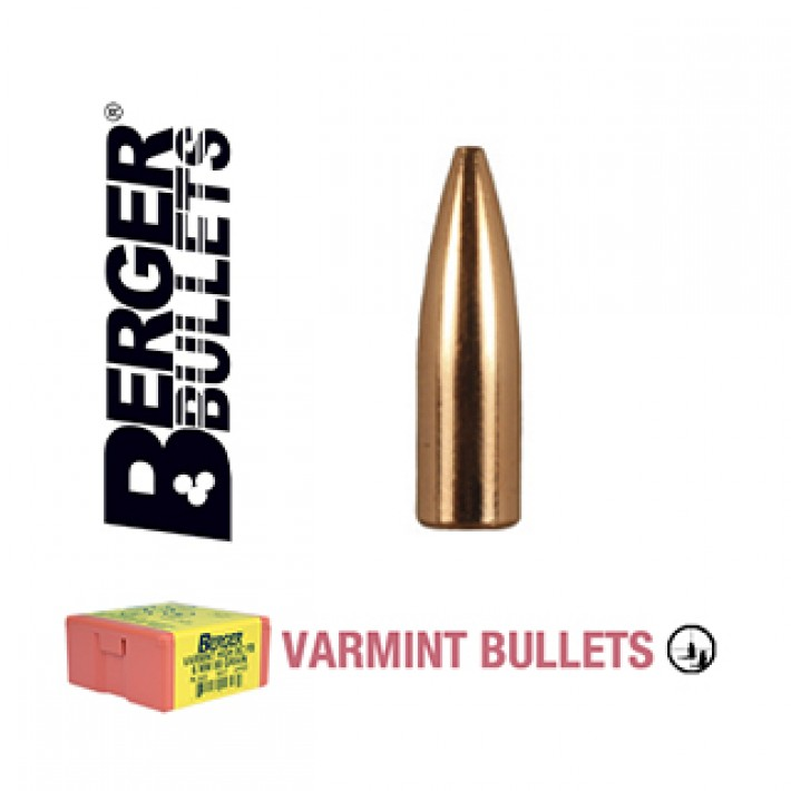 Puntas Berger FB Varmint calibre .224 - 64 grains