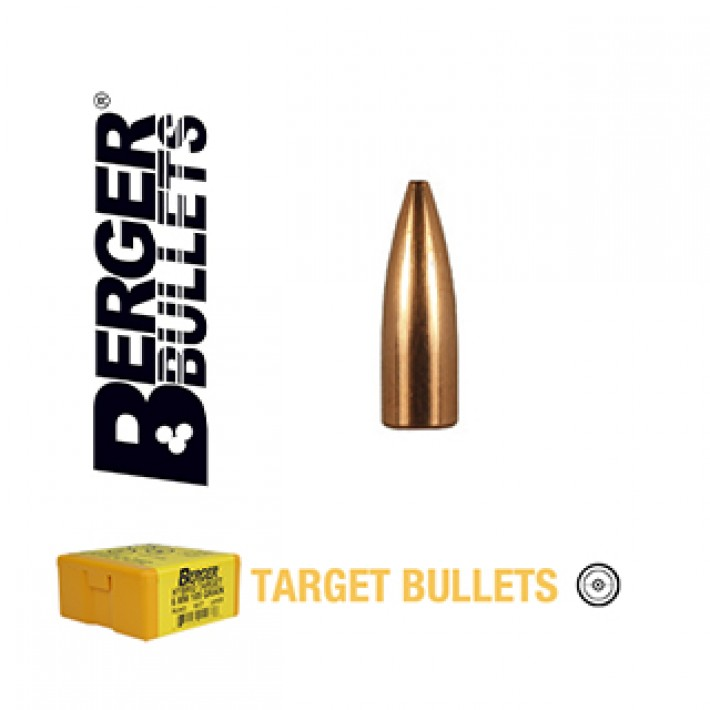Puntas Berger FB Target calibre .224 - 52 grains 1.000 unidades