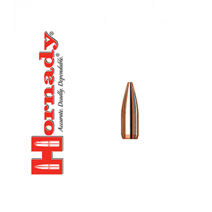 Puntas Hornady Match HPBT calibre .224 - 52 grains