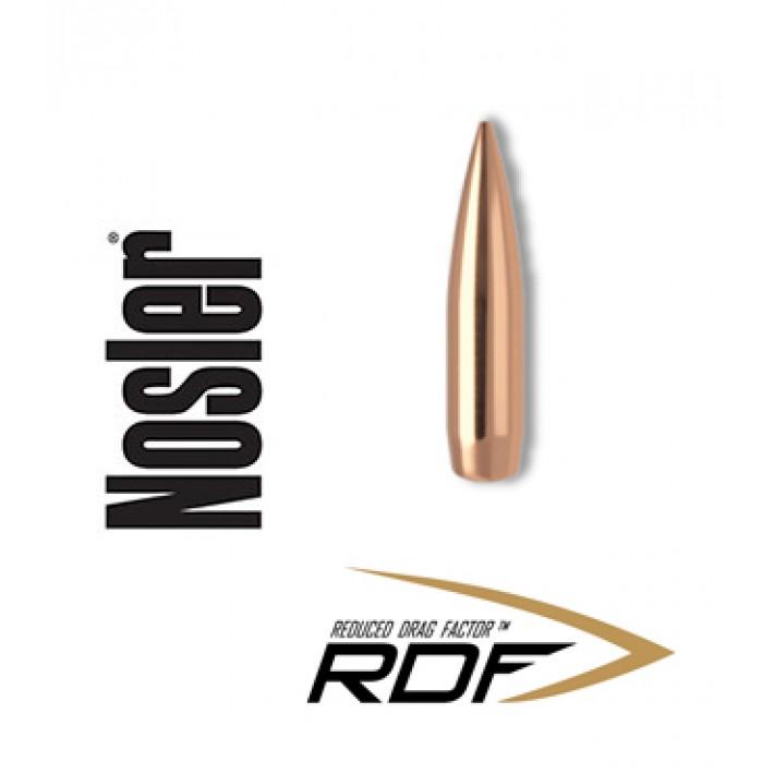 Puntas Nosler RDF HPBT calibre .243 (6mm) - 105 grains