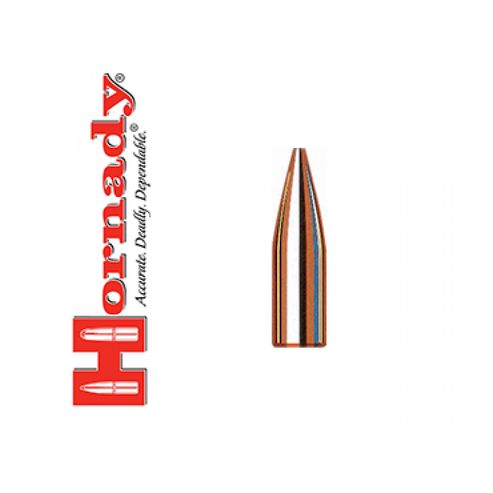 Puntas Hornady Varmint HP calibre .243 (6mm) - 75 grains