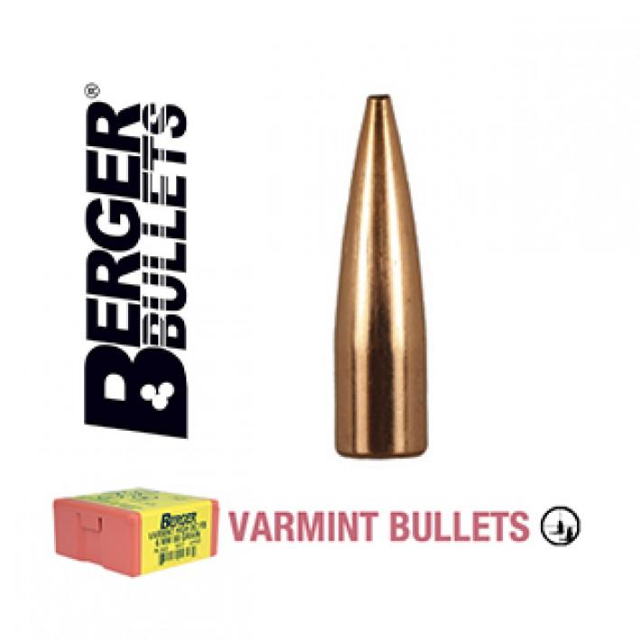 Puntas Berger High BC FB Varmint calibre .243 (6mm) - 64 grains