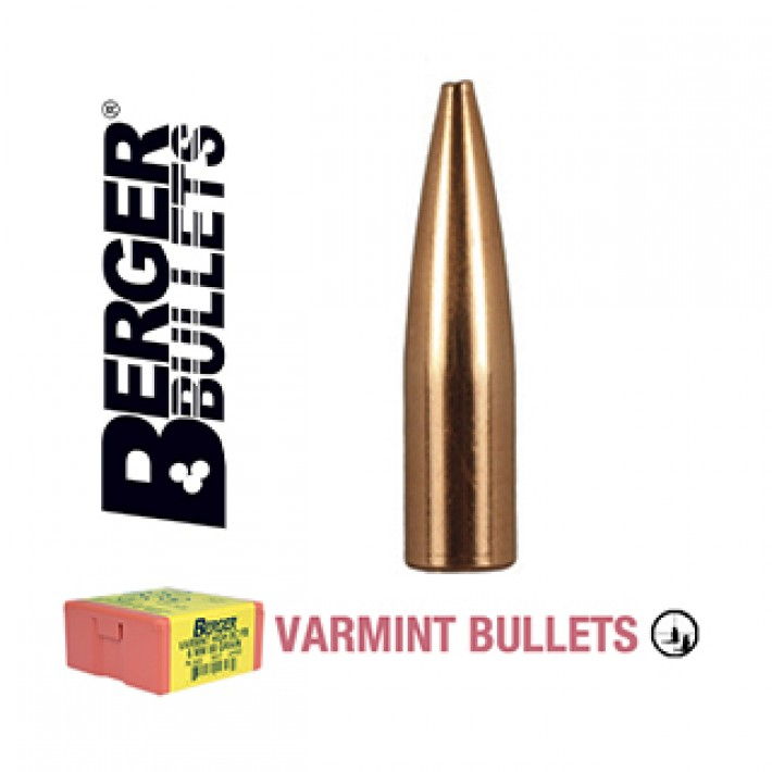 Puntas Berger High BC FB Varmint calibre .243 (6mm) - 88 grains