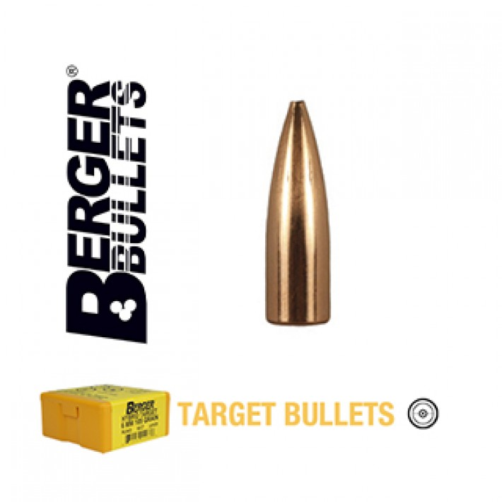 Puntas Berger FB Target calibre .243 (6mm) - 68 grains