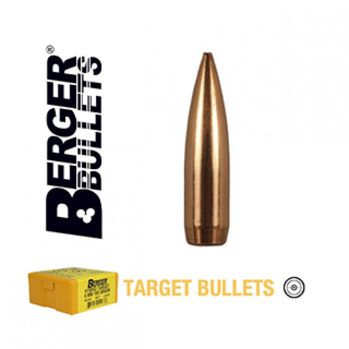 Puntas Berger BT Target calibre .243 (6mm) - 90 grains