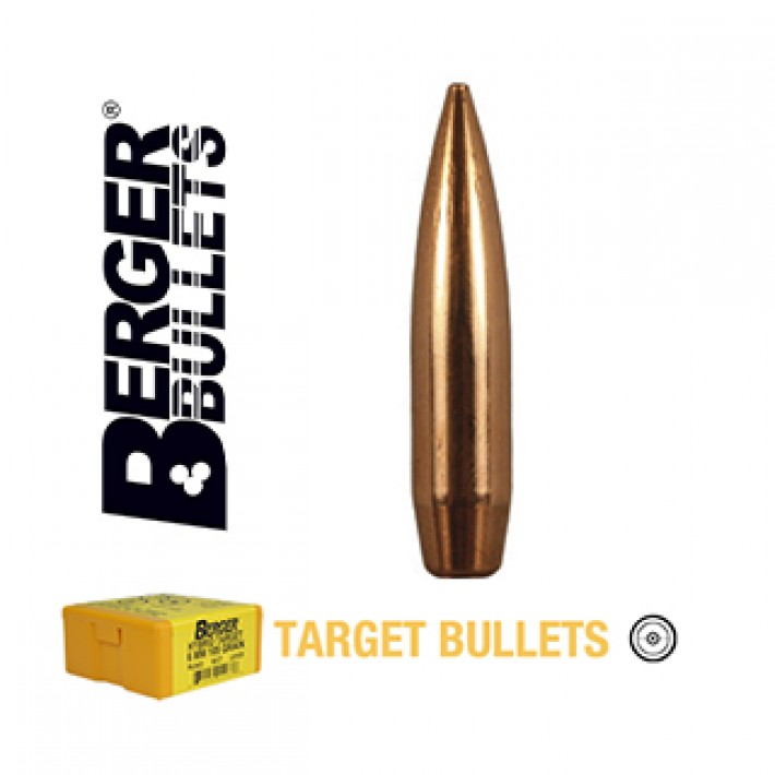Puntas Berger BT Target calibre .243 (6mm) - 105 grains