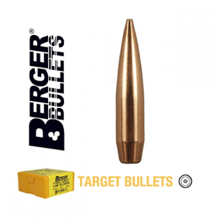 Puntas Berger VLD Target calibre .243 (6mm) - 105 grains