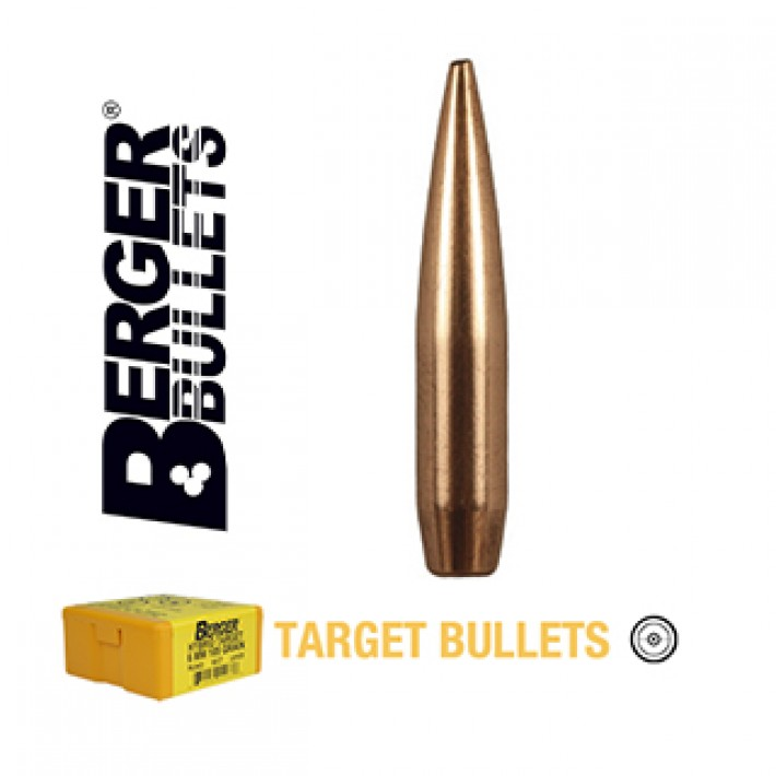 Puntas Berger VLD Target calibre .243 (6mm) - 115 grains