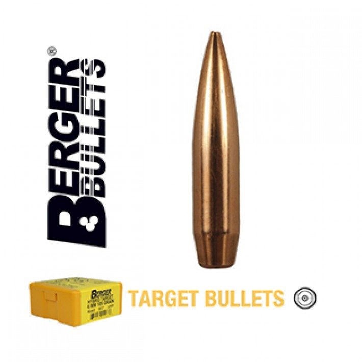 Puntas Berger BT Target calibre .243 (6mm) - 108 grains