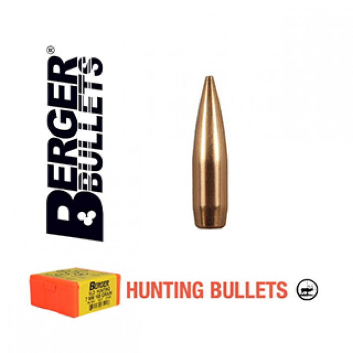 Puntas Berger VLD Hunting calibre .243 (6mm) - 87 grains