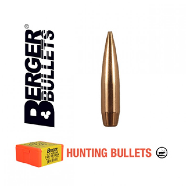 Puntas Berger VLD Hunting calibre .243 (6mm) - 105 grains