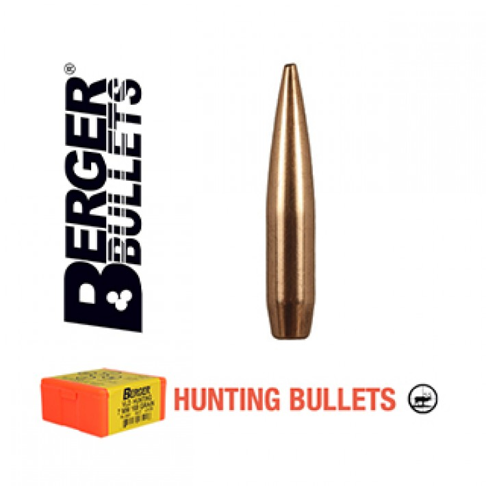 Puntas Berger VLD Hunting calibre .243 (6mm) - 115 grains