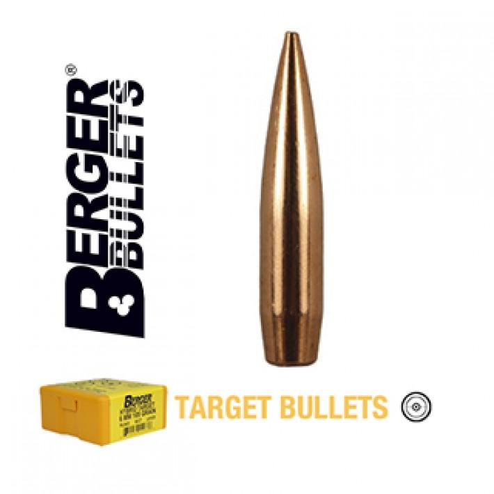 Puntas Berger Hybrid Target calibre .243 (6mm) - 105 grains 500 unidades