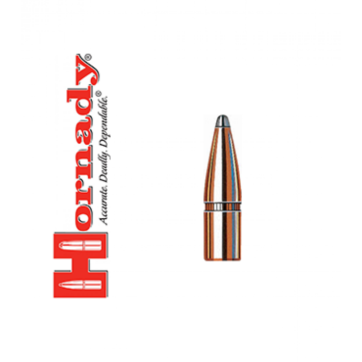 Puntas Hornady Interlock SP calibre .257 - 100 grains
