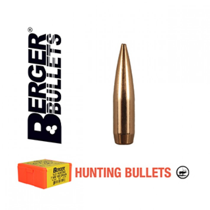 Puntas Berger VLD Hunting calibre .25 (.257) - 115 grains