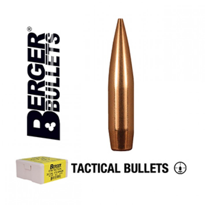 Puntas Berger AR Hybrid OTM Tactical calibre .264 (6.5mm) - 130 grains