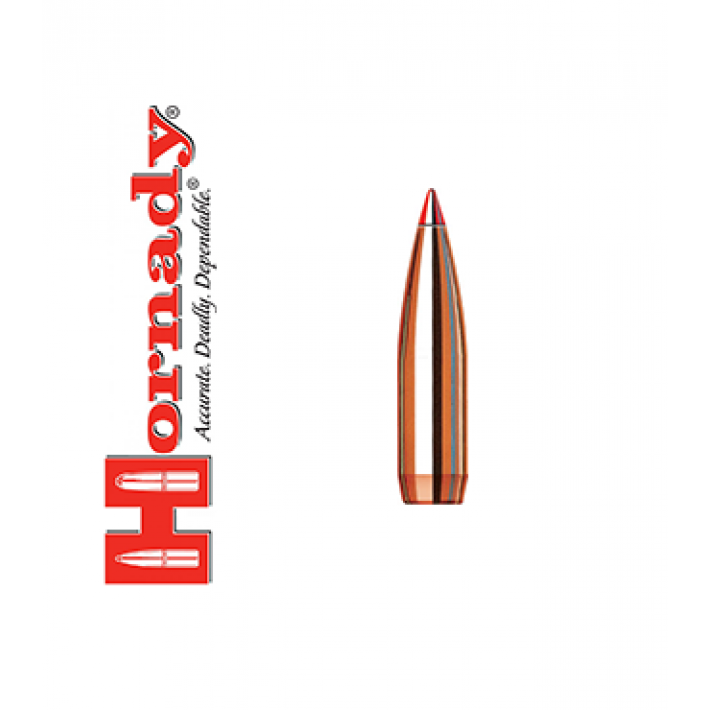 Puntas Hornady InterBond calibre .264 (6,5mm) - 129 grains